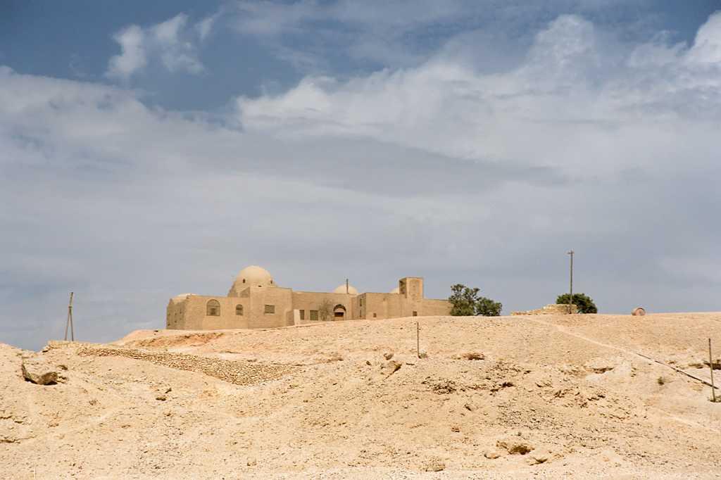 Carter's house in the Theban Necropolis