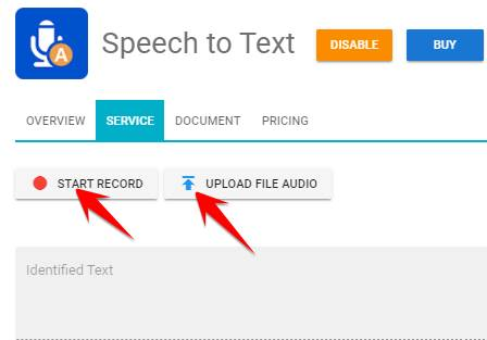 Speech to Text fpt.ai