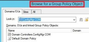 Group Policy Object