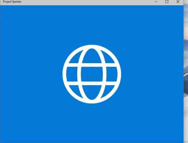 Spartan Browser with Build 10049-1