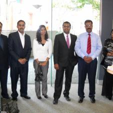 With Business Delegates Sydney Australia