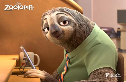 Zootopia Sloth