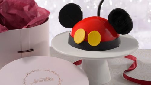 Learn How to Decorate Your Own Mickey Dome Cake at Amorette's Patisserie