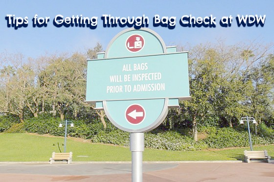 Security Bag Check WDW