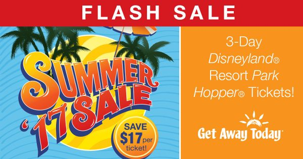 Get Away Today Flash Sale