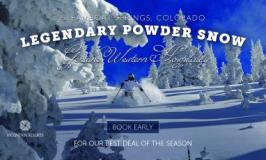 Time to Book Your Winter GetAway to Colorado!