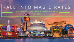 "Disney Springs Resort Area Hotels in WDW Offering Special ""Fall into the Magic"" Rates"