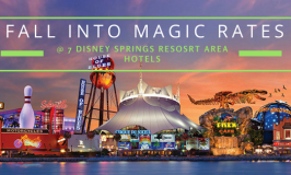 """Disney Springs Resort Area Hotels in WDW Offering Special """"Fall into the Magic"""" Rates"""