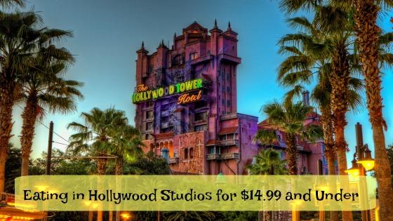 Budget Eating Hollywood Studios