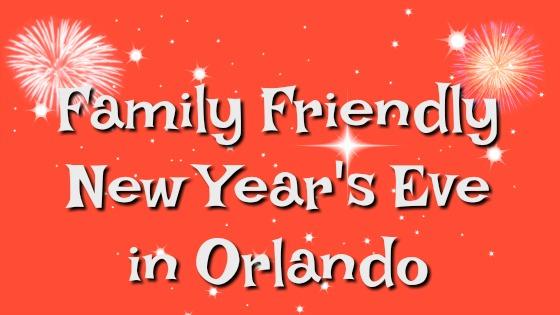 family friendly new years orlando