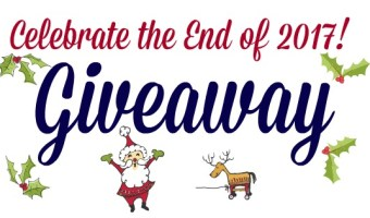 Let's Celebrate the End of 2017 with a Giveaway!