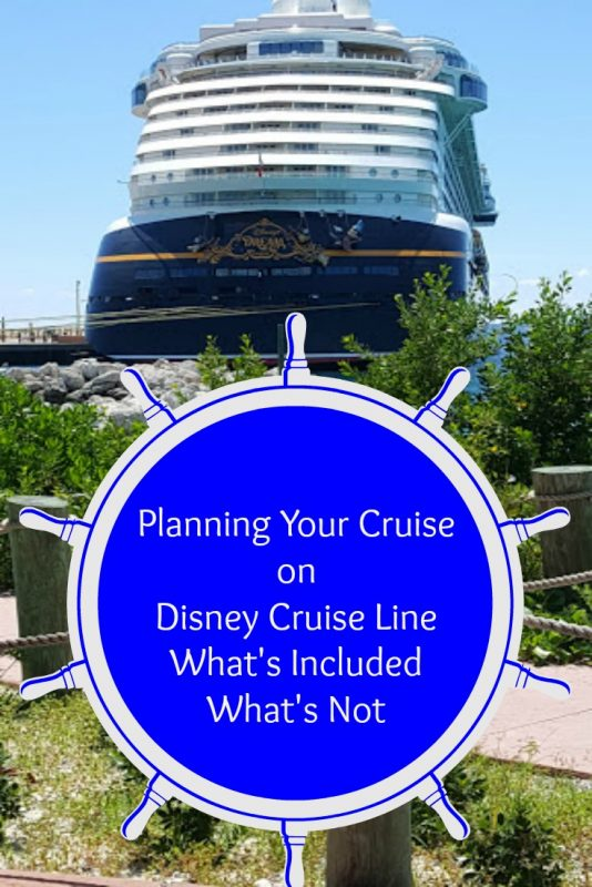 What's Included Disney Cruise Line