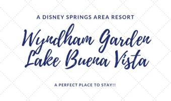Wyndham Garden Lake Buena Vista at Disney Springs – The Perfect Place to Stay!