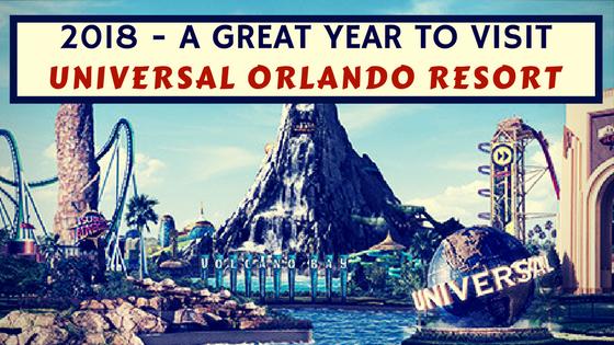 Universal Orlando Happenings 2018