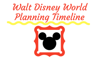 WDW Planning Timeline – Download and Print to Keep You on Track!