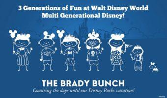 3 Generations of Fun at Walt Disney World #DisneySMMC