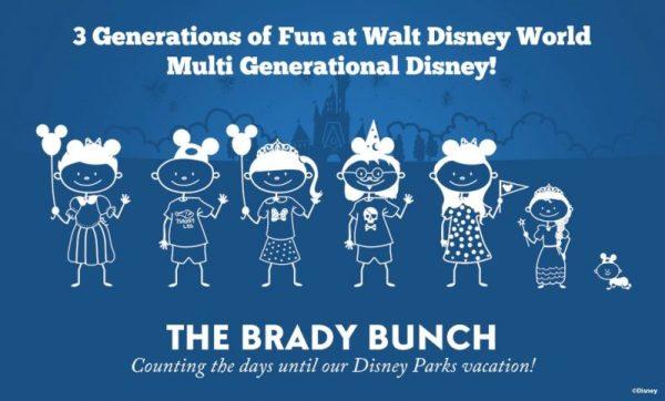 Multi Generational Disney