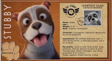Sgt. Stubby American Hero Giveaway