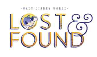 Lost Something While at Walt Disney World? A New Site Helps You Track It Down!