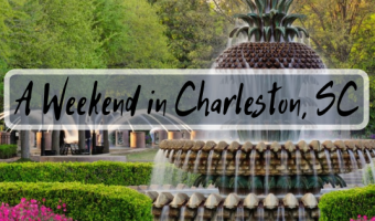 A Girlfriend's Weekend in Charleston SC