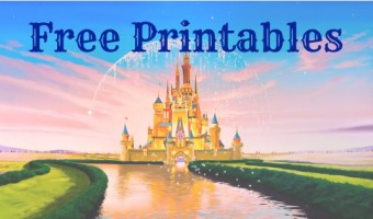 Free Printables to Help Plan Your Next Disney Vacation