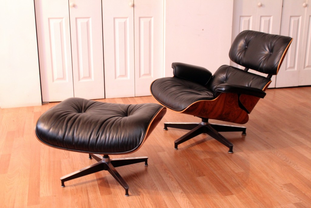 Eames Rosewood Lounge Chair 670 And Ottoman 671 For Herman