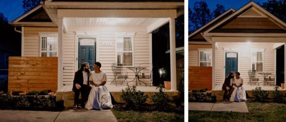 Outdoor Charlotte, NC Wedding Ceremony.