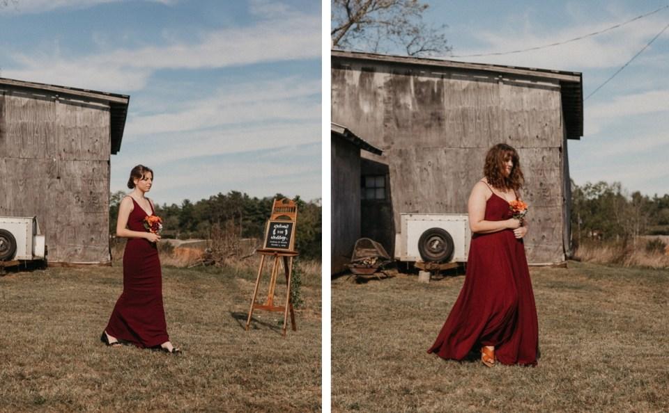 Bridesmaids precessional.