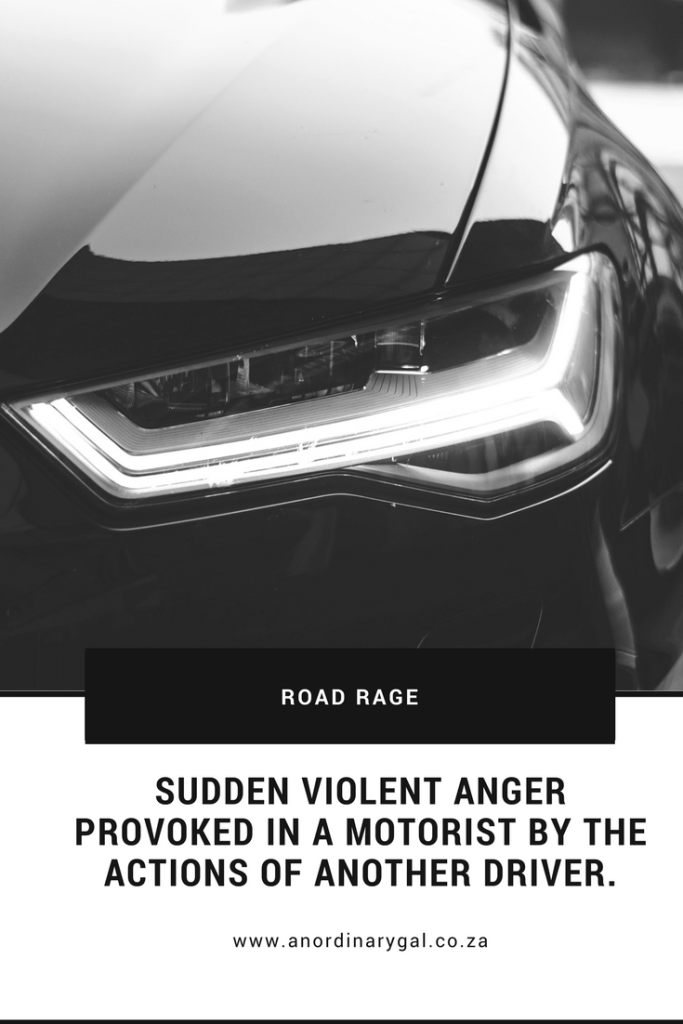 Road rage, calm down, violence, dealing with road rage