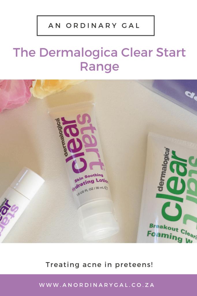 Dermalogica Clear Start Range