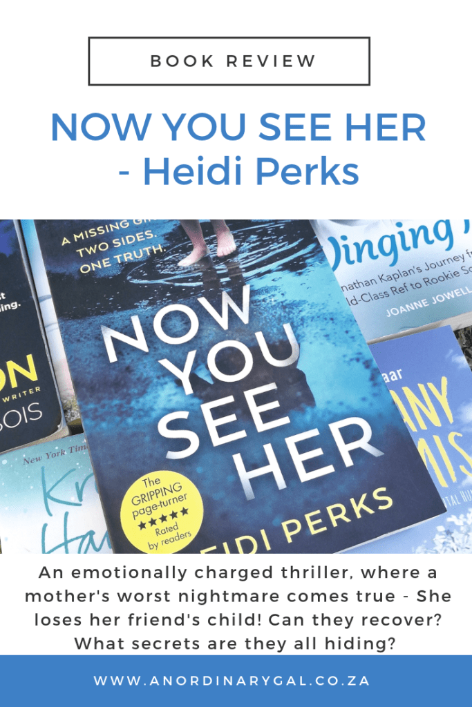 Book review of Now You See Her