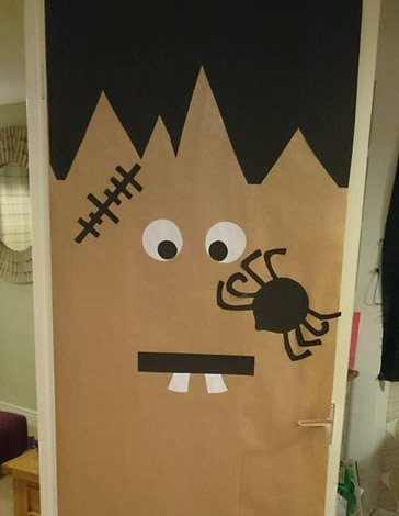 Frankenstien door decoration.jpg