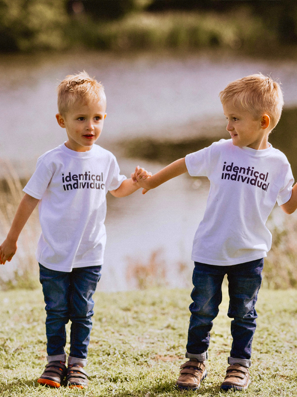 Identical Individual Twins T-shirt
