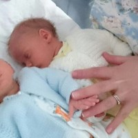 To the new twin mum, it gets easier!