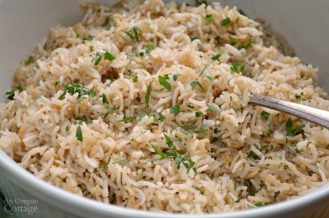 Family favorite Baked Tasty Rice