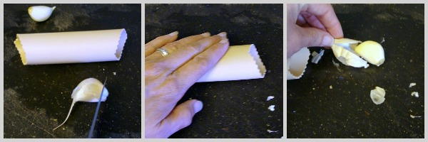 Peeling-Garlic-with-Rubber-Roller