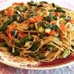 spicy noodle salad