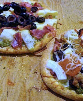Homemade Pizza: Individual or Large Size