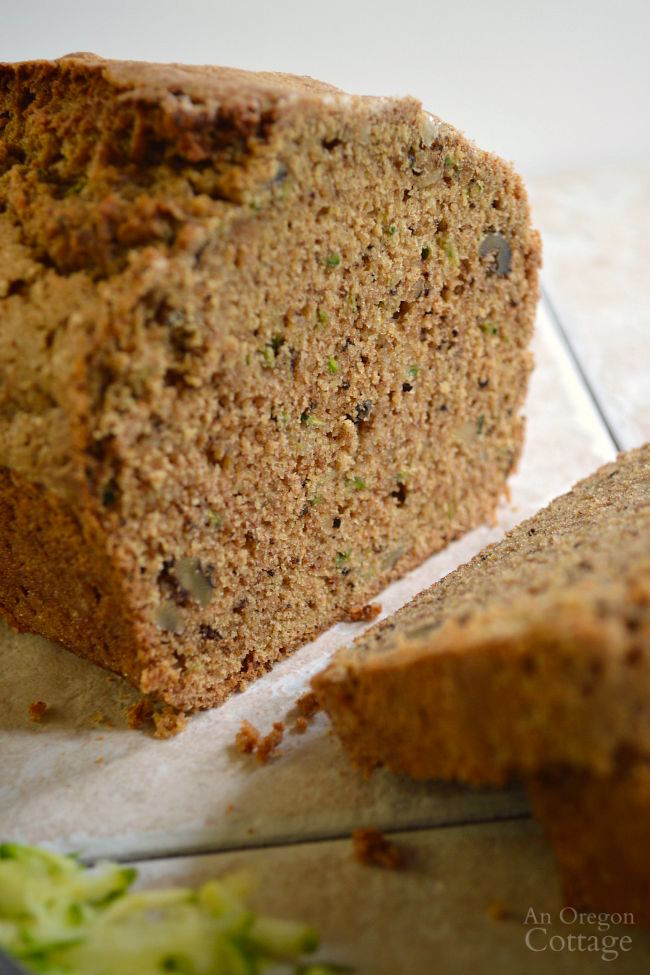 No Fail Whole Wheat Zucchini Bread