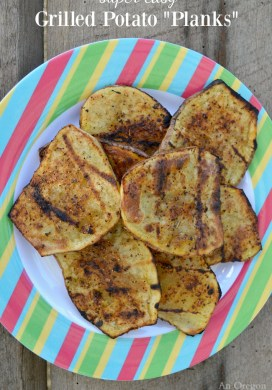 Easy Grilled Potato 'Planks'