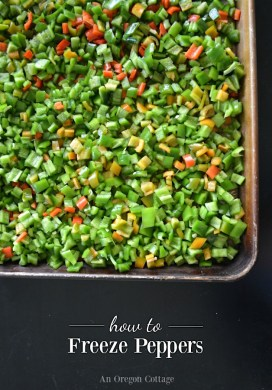 How to Freeze Peppers – Anaheim, Jalapenos, or Sweet
