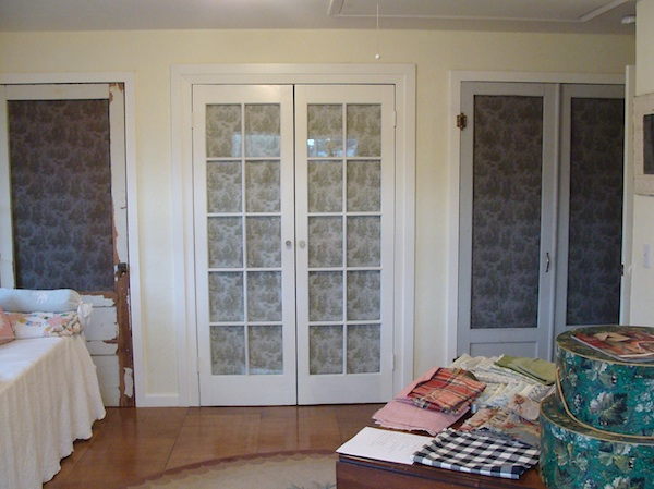 Garage Remodel Salvaged Storage Doors - An Oregon Cottage