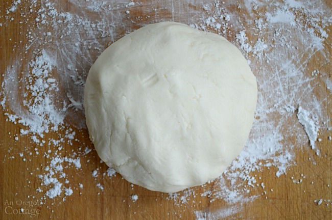 Homemade Butter Mints dough