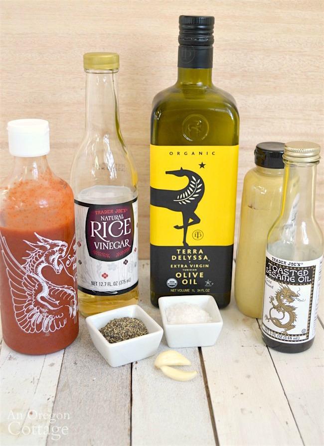 Asian vinaigrette ingredients