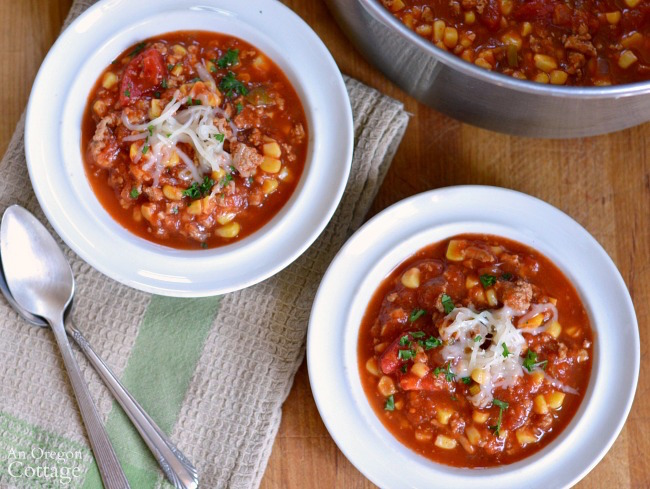 Flavorful Spicy Beef Tomato and Corn Stew