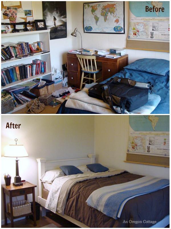 Extreme Room Makeover Teen Bedroom Reveal An Oregon Cottage