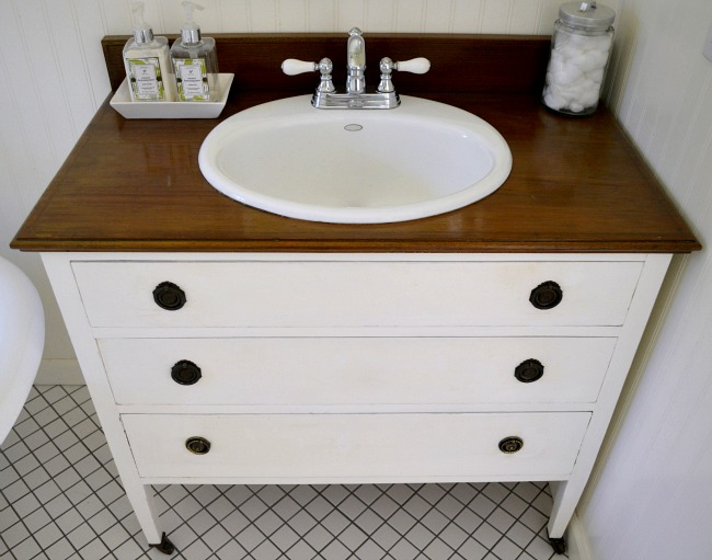 Bathroom Vanities For Sale Near Me how to make a dresser into a vanity {tutorial}