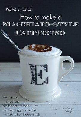 Video: How To Make Macchiato-Style Cappuccinos