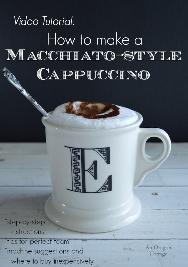 How to make macchiato-style cappuccinos | Video Tutorial