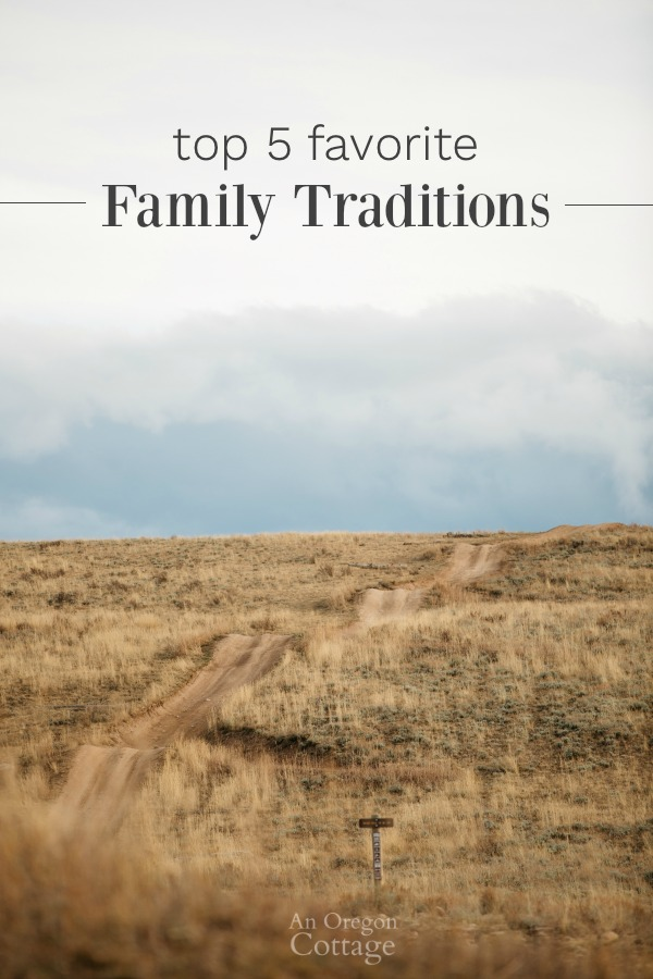 Top 5 Favorite Yearly Family Traditions